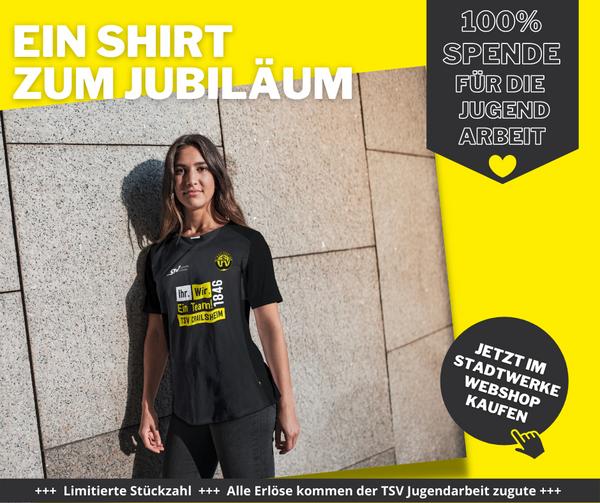 Jubiläums-T-Shirt Damen