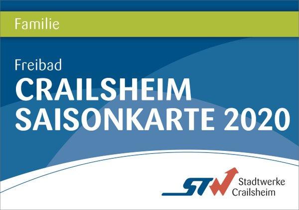 Saisonkarte Familien Bäder Crailsheim
