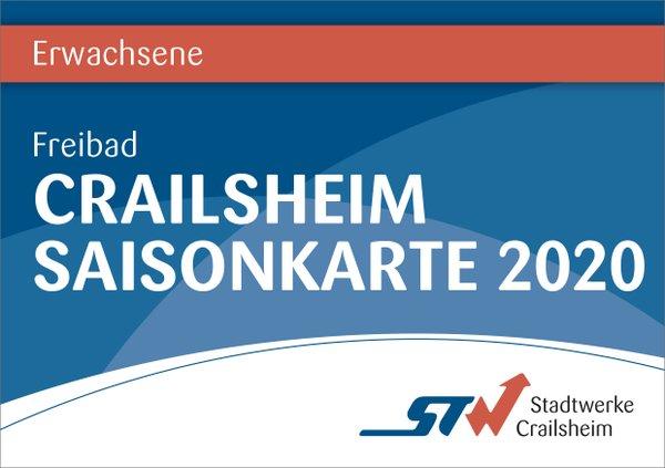 Saisonkarte Erwachsene Bäder Crailsheim