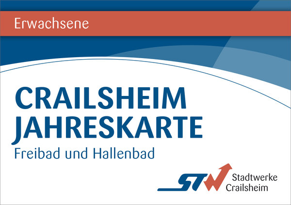 Jahreskarte Erwachsene Bäder Crailsheim