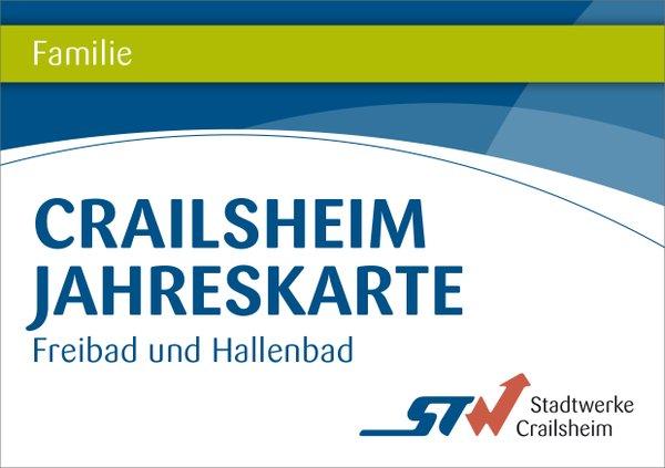 Jahreskarte Familien Bäder Crailsheim